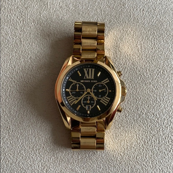 Michael Kors Accessories - Michael Korda Gold Watch